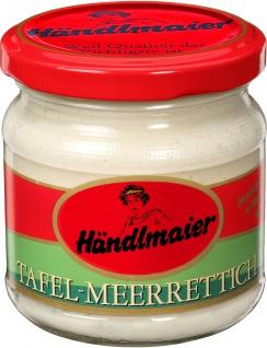 Händlmaier Tafelmeerrettich Gourmet Qualität Glas Inhalt 200g