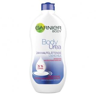 L'Oréal Garnier Body Urea -5%- 24 Stunden Glättende Creme Milch, 400 ml