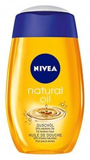 Nivea Natural Oil Duschöl, 200ml, 2er Pack