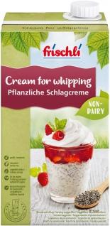 Frischli Vegane Schlagcreme Alternative für vegane Dessertideen 1000ml