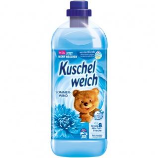 Kuschelweich Weichspüler Sommerwind ergibt 33 Waschladungen 1L