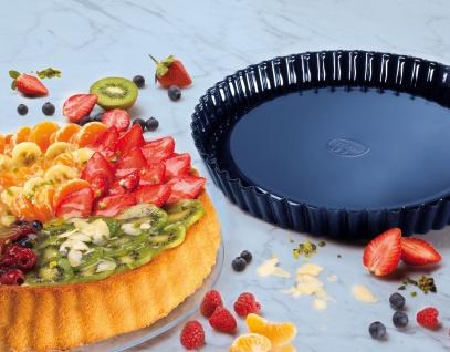 Obstkuchenform 28cm Profi blau
