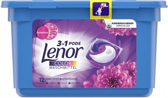 Lenor ALL-IN-1 Colorwaschmittel Amethyst Blütentraum 26.4Gr -12WL