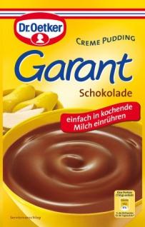 Dr. Oetker Garant Schokolade Creme Pudding cremig und lecker 100g 7er Pack