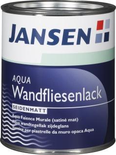 Jansen Aqua Wandfliesenlack weiss Seidenmatt für Innenbereich 750ml