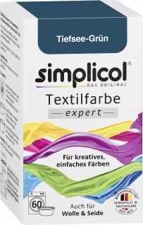 Simplicol Textilfarbe expert Tiefsee Grün