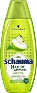 Schauma Shampoo Natur Momente Grüner Apfel und Brennnessel 400ml
