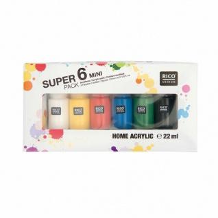 Super 6 Pack Mini Home Acrylic