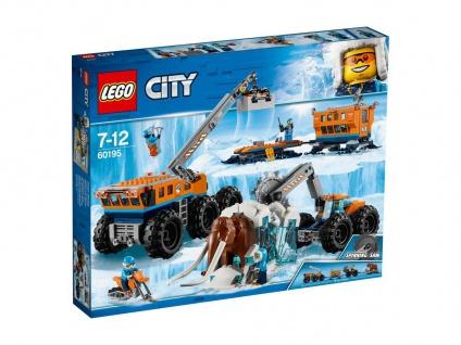 Lego City 60195 Mobile Arktis-Forschungsstation Beginne mit den Ausgrabungen