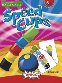 Amigo 03780 Speed Cups Turbulentes Glücksspiel für die ganze Familie