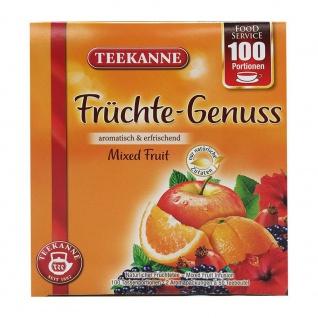 Teekanne Früchte Genuss aromatisch erfrischend 100 Portionen