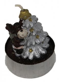 Teelichter Formteelicht Teelichtfigur Weihnachtsbaum mit Elch