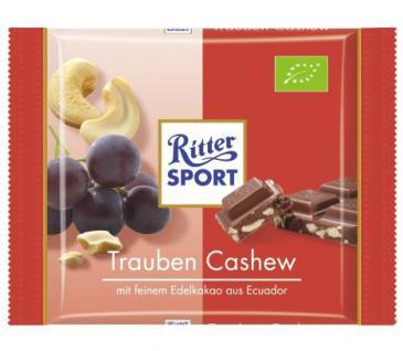 Ritter Sport Bio Trauben Cashew Menge:65g
