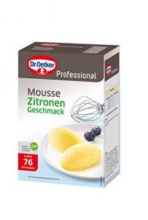 Dr. Oetker Mousse Zitrone-Geschmack 1 kg, 1er Pack (1 x 1 kg)