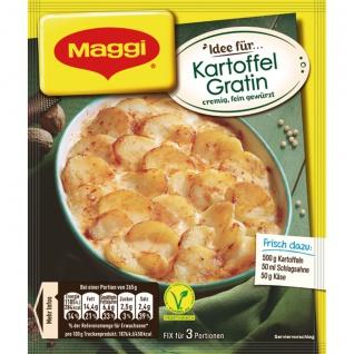 Maggi Fix für Kartoffel Gratin Auflauf cremig und fein gewürzt 43g