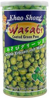 Khao Shong grüne Erbsen Wasabi mit japanischem Meerettich 280g