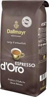 Dallmayr Espresso d Oro ganze Bohnen kräftiges Aroma 1000g 8er Pack