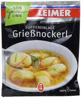 Leimer Grießnockerl Suppeneinlage für 8 Portionen 100g