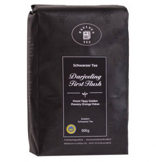 Paulsen Darjeeling Tee First Flush Schwarzer Tee Lose Blätter 500g