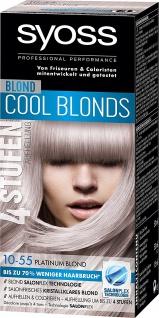 Syoss Platinum Blond Stufe 3 10-55 3er Pack