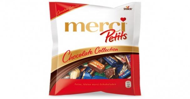 Merci Petits Chocolate Collection Feine, kleine merci-Schokoladen 125g