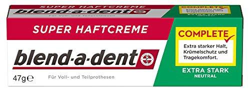 Blend-a-dent Super-Haftcreme natural 3er Pack
