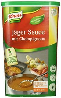 Knorr Jäger Sauce mit Champignon 1 kg - Vorschau