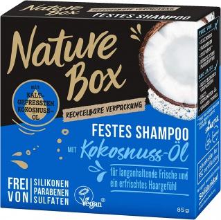 Schwarzkopf Nature Box Festes Shampoo mit Kokosnuss Öl Vegan 85g