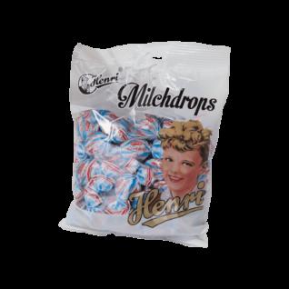 Henri Milchdrops Bonbons Hartkaramellen mit Sahnefüllung 250g