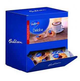 Bahlsen Deloba Portionspackung Buttergebäck mit Fruchtfüllung 1040g