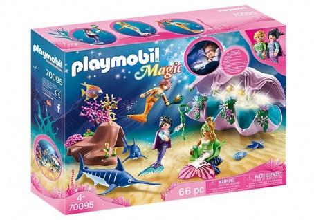 playmobil Magic 70095 Perlenmuschel für Kinder geeignet ab 4 Jahren