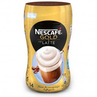 NESCAFÉ GOLD Typ Latte Getränkepulver Instant-Bohnenkaffee 250g 5er Pack