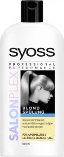Syoss Spülung Salon Plex Blond