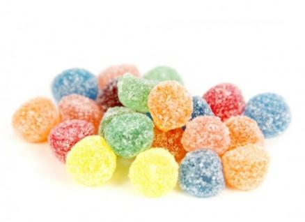 Fruchtgummis mit gezuckerte Berries Mix und Fruchtsaft 1000g