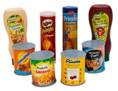 Christian Tanner Lebensmittel Set für den Kaufladen aus Kunststoff