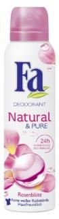 Fa Natural & Pure Deo Spray Rosenblüte 150 ml