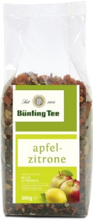 Bünting Tee Apfel Zitrone Früchte und Kräuterteemischung 10er Pack