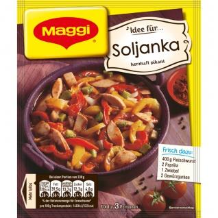 Maggi Fix für Soljanka Herzhaft Pikante Klassische Suppe 33g