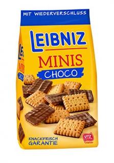 Bahlsen Leibniz Minis Schokokeks (8x 125g)