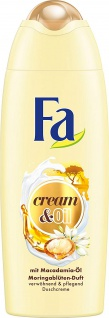 Fa Duschgel Cream und Oil Macadamia Moringablüten Duft 250ml 6er Pack