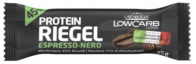 Layenberger Low Carb Protein Riegel Geschmack Espresso Nero 35g