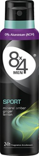 8x4 Men Deo Sport Spray 150ml