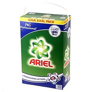 Waschpulver P&G Professional Ariel Regulär Actilift 9, 1 kg für maximal Waschkraft, 9, 1 kg = 140 Waschladungen - Vorschau