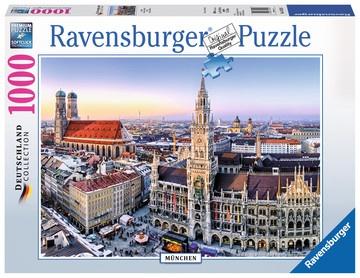 Ravensburger Puzzle - Die Stadt München - 1000 Teile 700x500mm