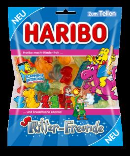 Haribo Ritter Freunde magische Welt bestehend Drachen & Co 175g
