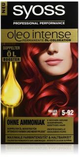 Syoss Oleo Intense 5-92 Helles Rot 3er Pack