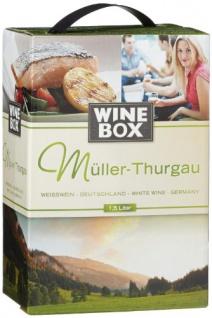 WineBox Müller-Thurgau Landwein Rhein halbtrocken Bag-in-Box 2er Pack 3000ml