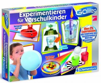 Experimentieren Vorschulkinder
