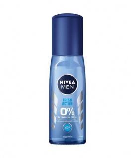 Nivea Deo Zerstäuber for Men Blau Fresh ohne Aluminium 75ml 3er Pack