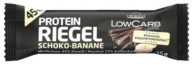 Layenberger Low Carb Riegel Schoko und Banane mit Protein 35g
